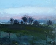 'Evening glow' by Petra Berntsson at the Chimera Gallery, Mullingar, Co Westmeath, Ireland