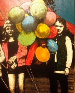 'Fairground Balloons'  by Lorcan Vallely