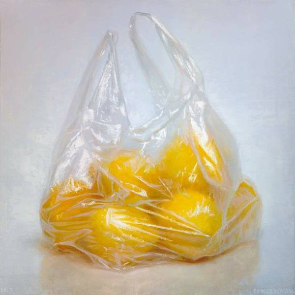 ' Lemons' by Conor Walton at the Chimera Gallery, Mullingar, Co Westmeath, Ireland