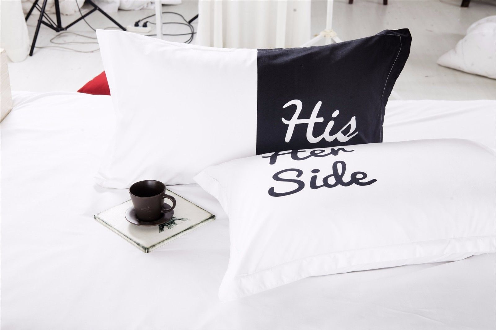 Her Side His Side Bettwäsche Bettbezug Quothis Side Her Side Quot Endlich Klarheit Im Bett