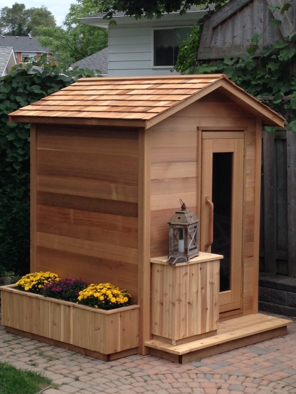 Sauna Outdoor Outdoor Sauna Kits For 3-4 Person – Steam Showers,shower ...