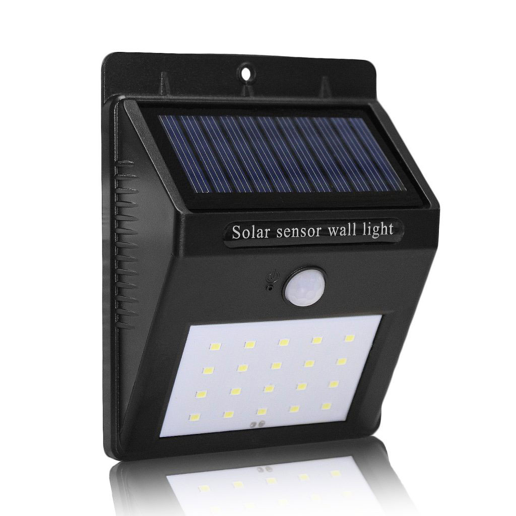 Led Solar 20 Led Solar Power Motion Sensor Garden Security Wall Lamp