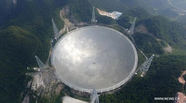World's Largest Radio Telescope put into use