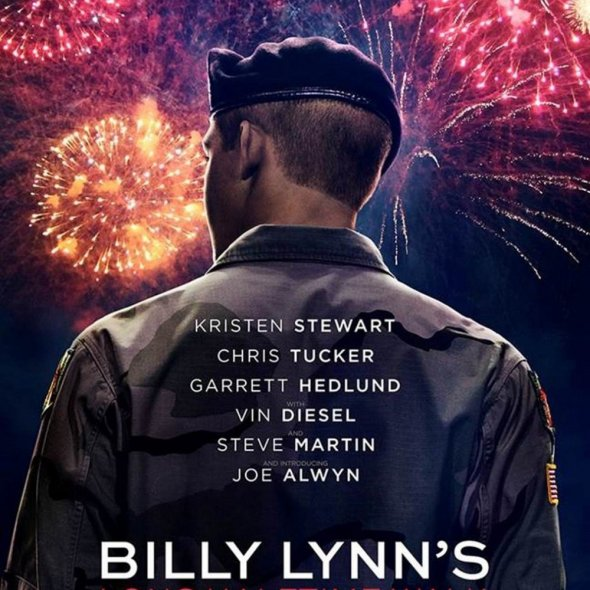 "Poster for the movie ""Billy Lynn's Long Halftime Walk"""