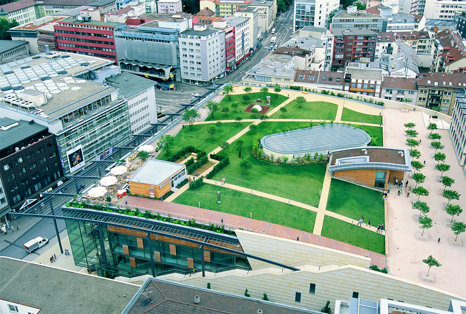 Asia Haus Hamburg Germany S Green Roofs Offer Lesson On Climate Change Adaptation