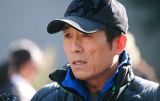 Director Zhang Yimou on the set. (Sony Pictures Classics)