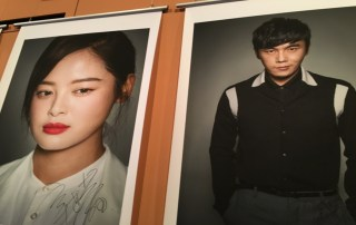 Qin Hao and Xin Zhilei, the stars of 'Crosscurent.'