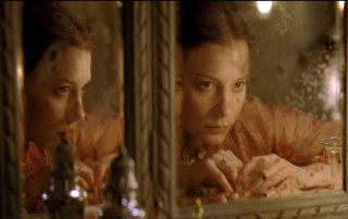 """Mia Wasikowska stars as the title character in the 2015 """"Madame Bovary"""" film adaptation."""