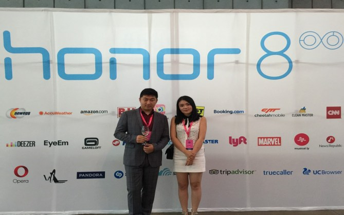 Owltainment Company Founders Mingda Dong (Left) and Yuanyaun Chen (Right).