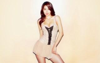 South Korean actress and singer Yoo In-na.