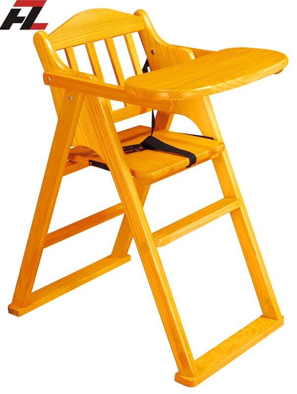 Restaurant Stackable Baby Chair High Back Chair