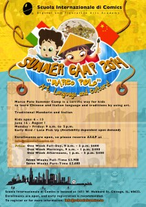 Summer Camp 2014: Marco Polo - Art, Language and Culture @ Scuola Internazionale di Comics | Chicago | Illinois | United States