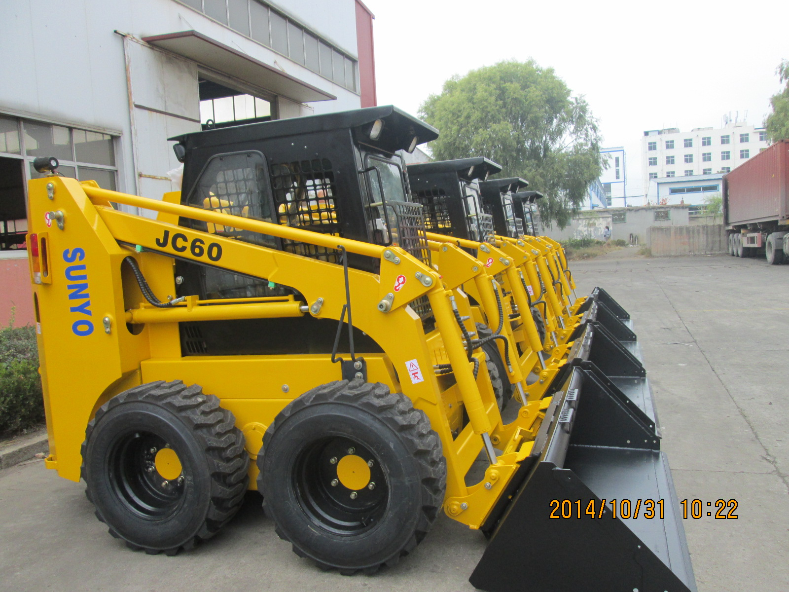 Chinese Skid Loader Side Loaders Manufacturer Factory