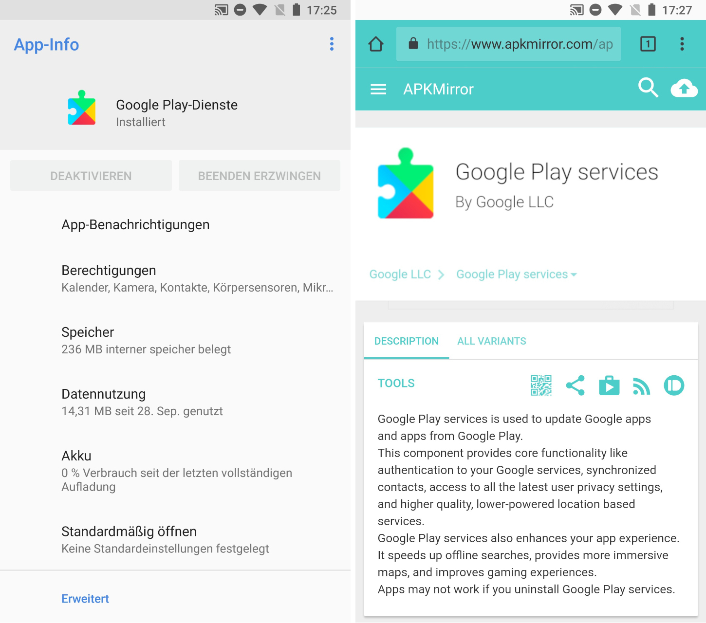 Google Play Konto ändern Google Play Dienste Apk Android App Download Chip