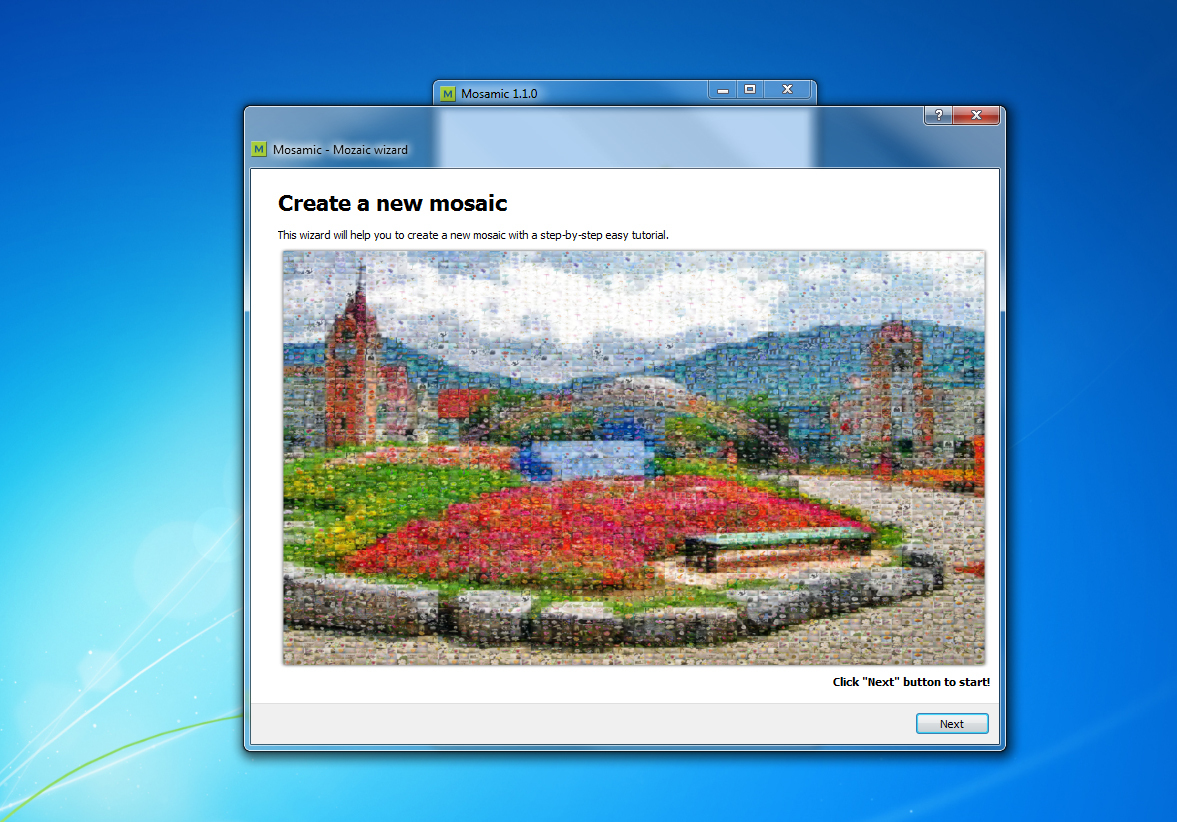 Bilder Mosaik Erstellen Mosamic Download Chip