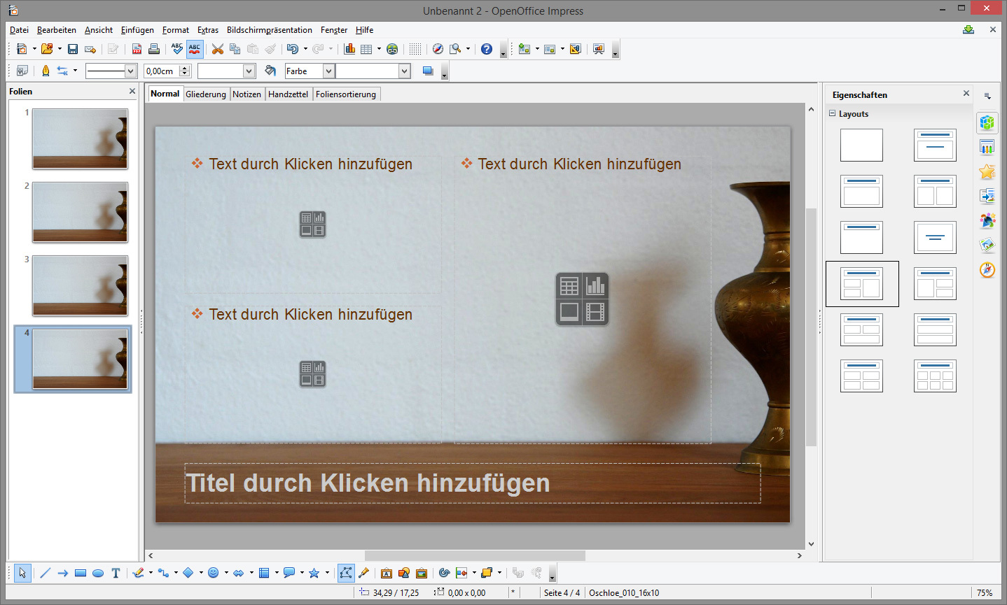 Libre Office Impress Vorlagen Für Openoffice Libreoffice Download Kostenlos