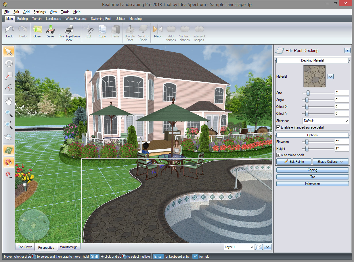 Gartenplanung Ipad Realtime Landscaping Architect 2014
