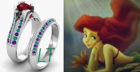23 Disney-Inspired Engagement Rings for Your Future Prince ...