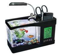 USB Desktop Aquarium Holds Real Fish Along with Your iPhone