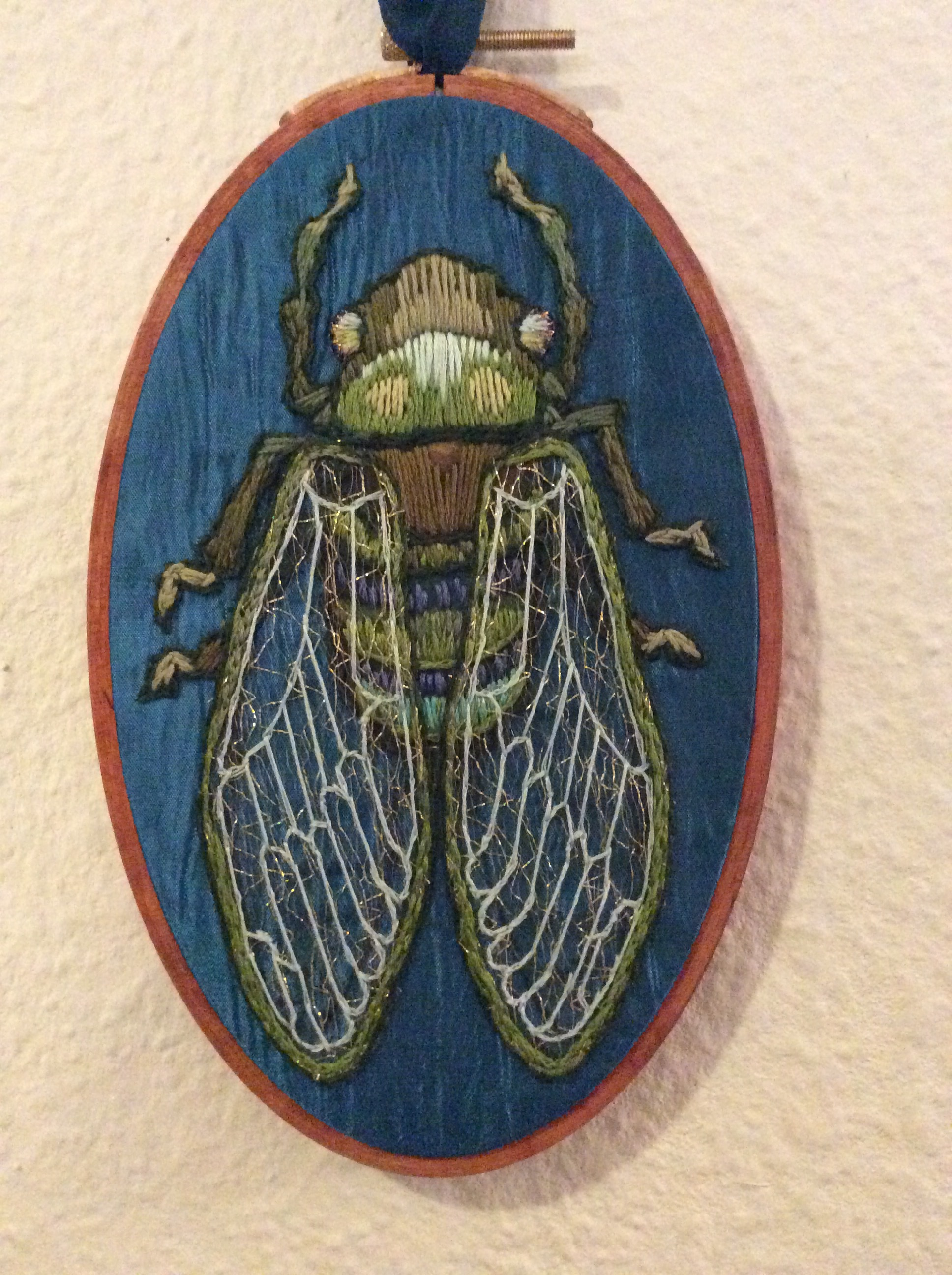 Embroidery By Suzanne Forbes 2015 · Embroidery By Suzanne Forbes 2015