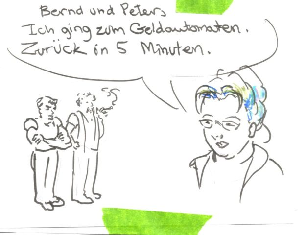 note to Bernd und Peter Suzanne Forbes 2016