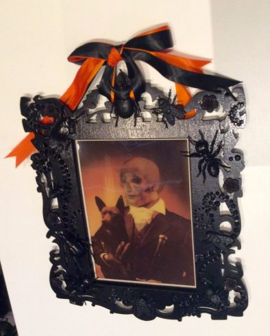 creepy Halloween bug frames by Suzanne Forbes 2016