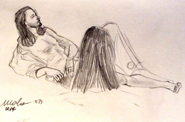 Drawing by Chiara Malasavi March 24 2017