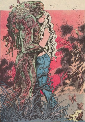 swampthing-34 panel by Bissette and Totleben