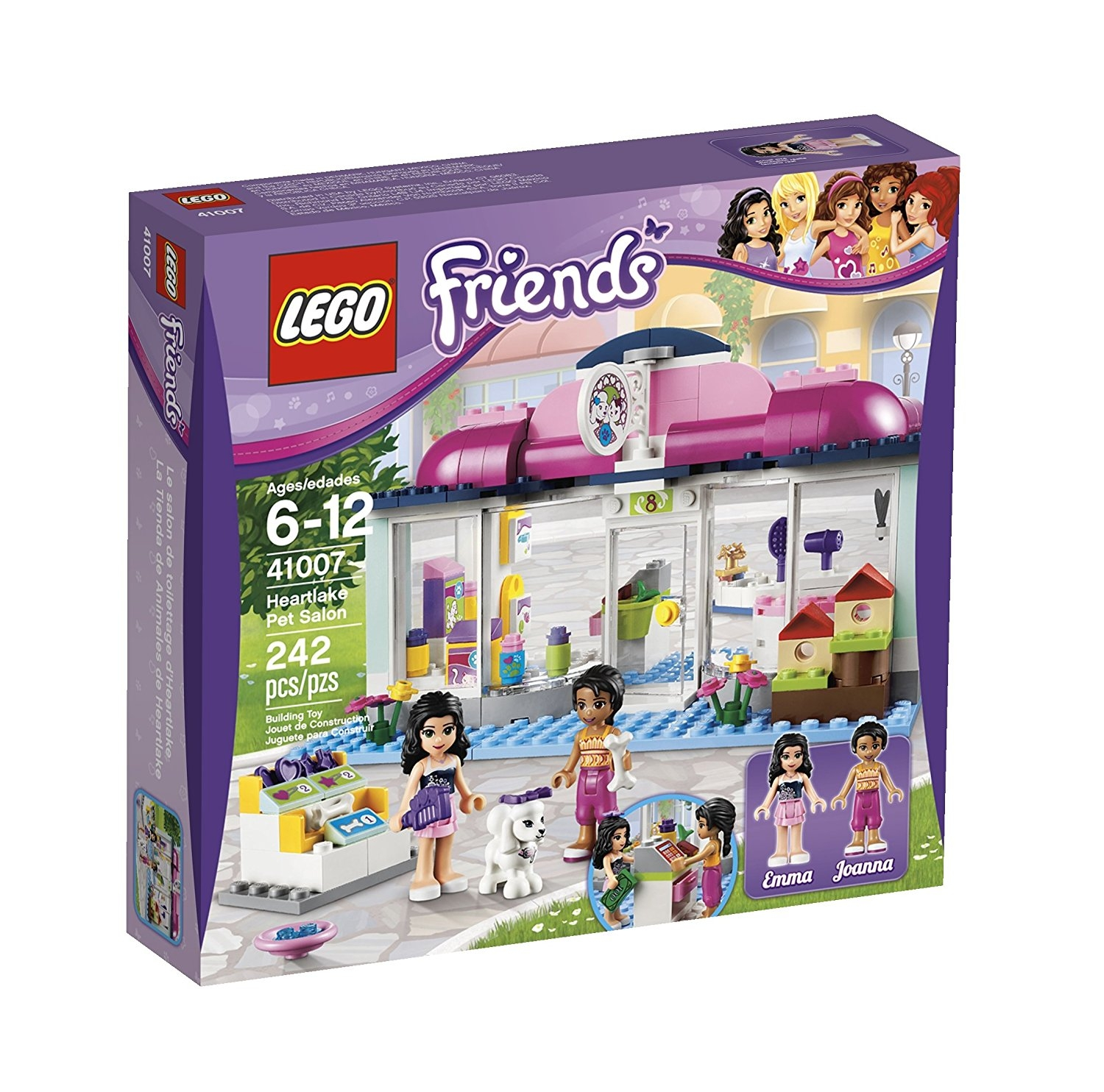 41008 Heartlake Zwembad Lego Friends Chipo
