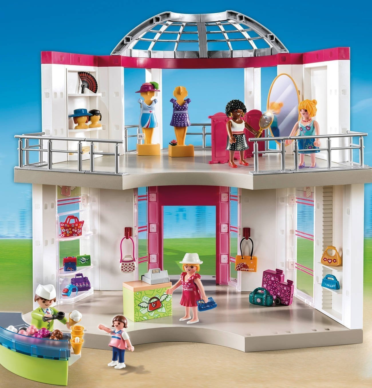 Playmobil City Life Küche Müller Playmobil City Life 5499 Modeboetiek Chipo