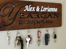 Personalized Gifts - Engraved Key Holders Are Among the Best Gifts on All Occasions