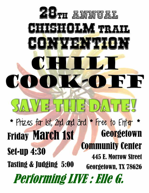 Printable Event Flyers - 28th Annual Chisholm Trail Convention