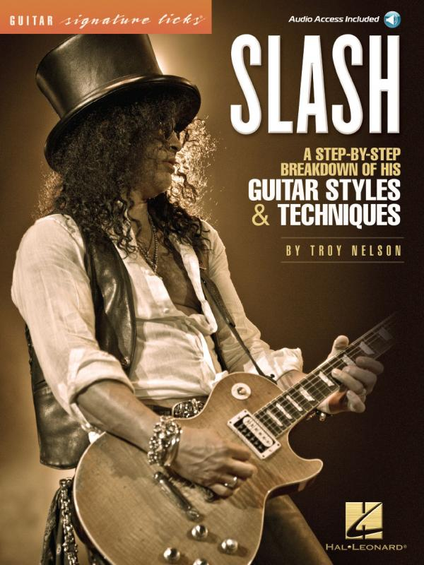 Libro Velvet Slash Guitar Signature Licks Cd Tablature Chitarra Libro