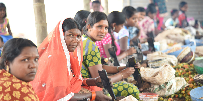 Production line - SHGs