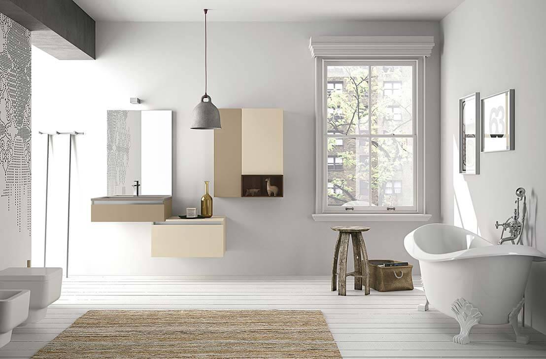 Bagno design nordico bagno classico della stazione termale di
