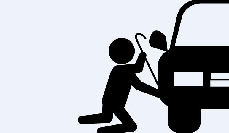 Dicas de segurança contra furtos de estepes e rodas