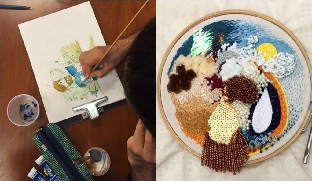 Sesc Vila Mariana promove oficinas de ilustração e bordado a partir de relatos de viagens