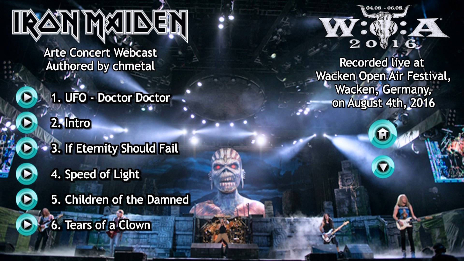 Arte Concert Wacken Chmetal Bootlegs Video Recordings Powered By Myhobbysite