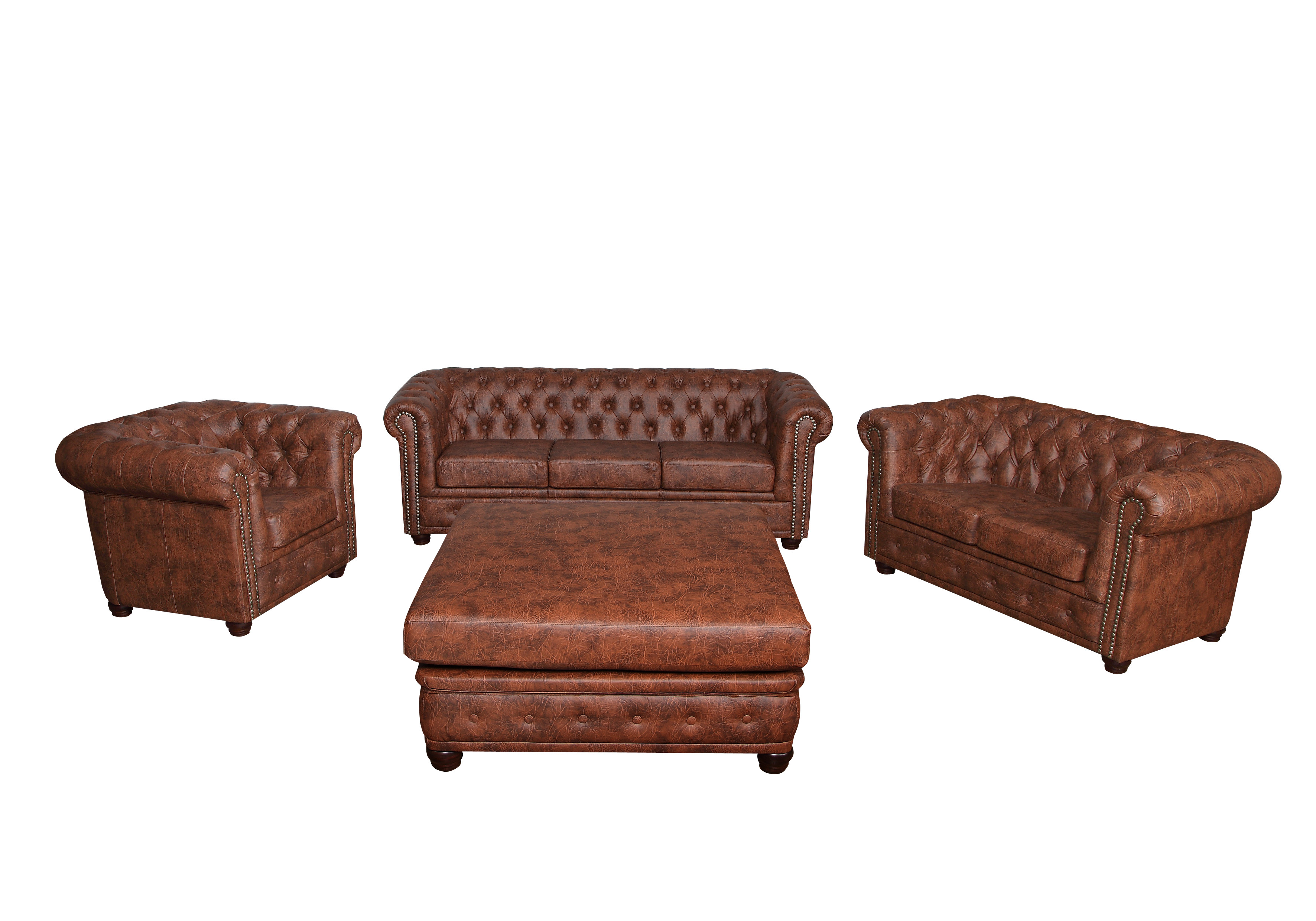 Chesterfield Sofa Und Hocker Chesterfield 3 43 2er Sitzer 43 Sessel 43 Hocker 43 Bett