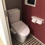 web内覧会《2階トイレ&洗面台》クッションフロアが格好良い☆