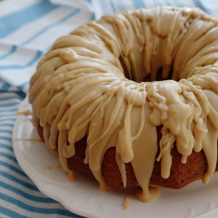 Caramel Glazed Spice Cake - Chocolate Chocolate And More!