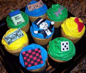 monopoly cakes