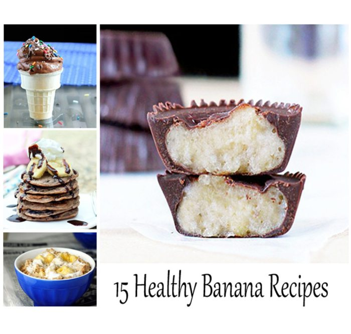 healthy banana recipes