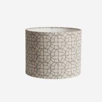 Table lamp, geometric lampshade casas design - Chocolate ...