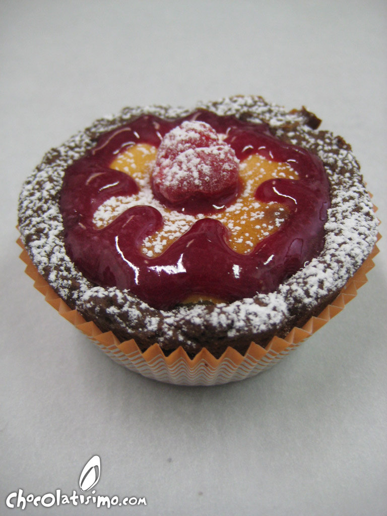Receta - Cheesecake con base de chocolate y glaseado de cerezas ...