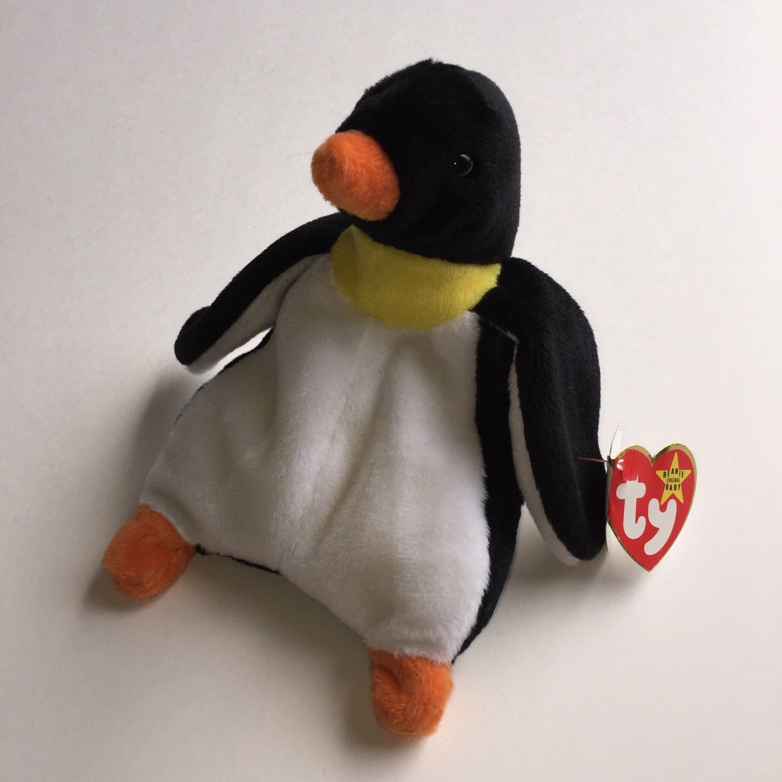 Ty Beanie Babies Waddle The Penguin Rare Error Tag Choice City Usa