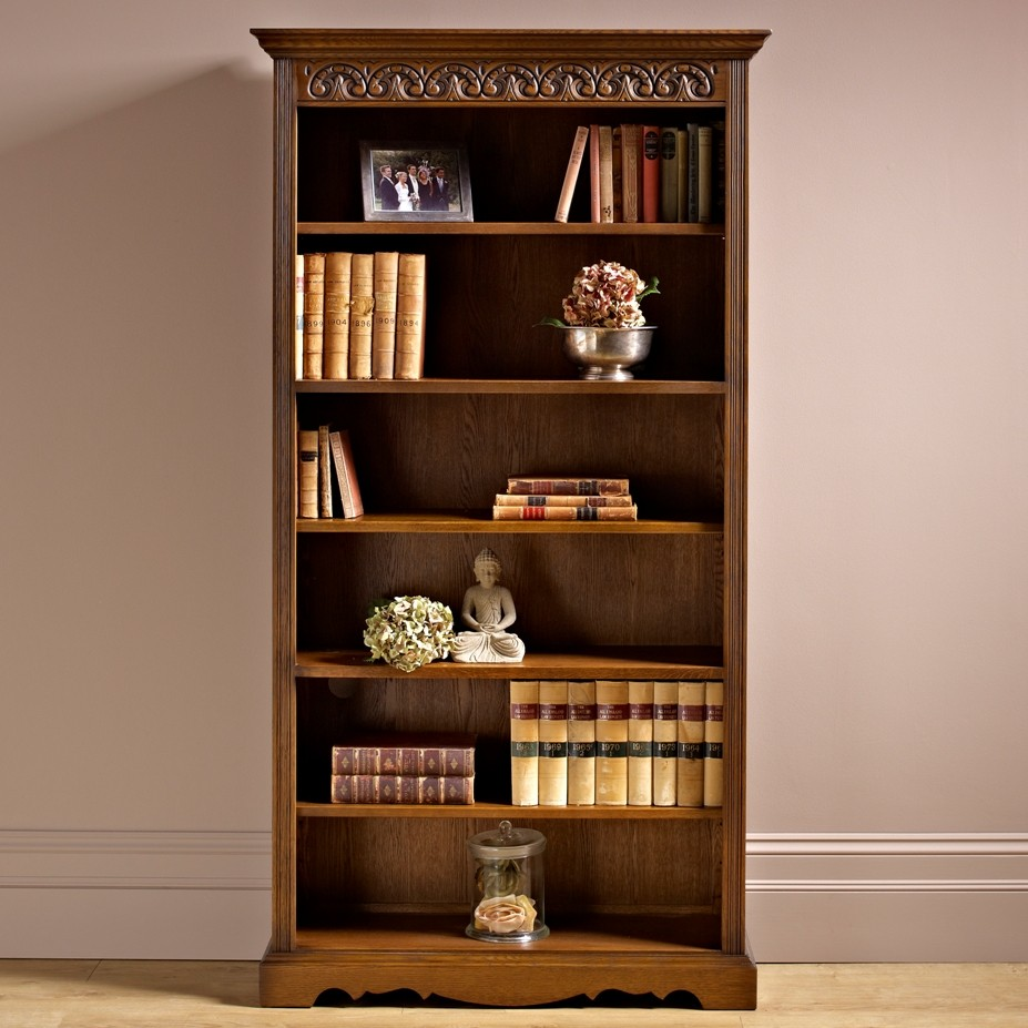 Wooden Shelving Units Wood Bros. Bookcase | Choice Furniture