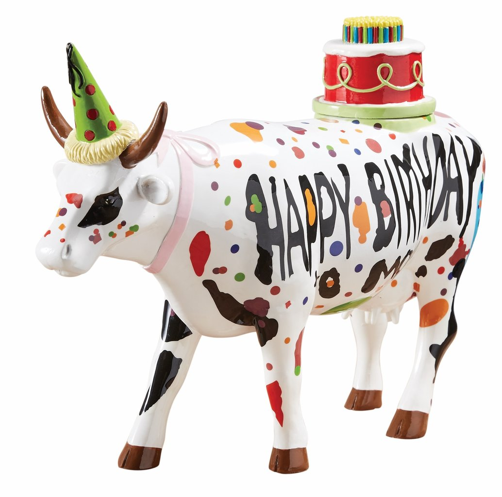 Mood Gartenmöbel Jumbo Happy Birthday To Moo Cowparade Kuh Large