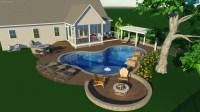 Pool Fire Pit Designs   Desainrumahkeren.com