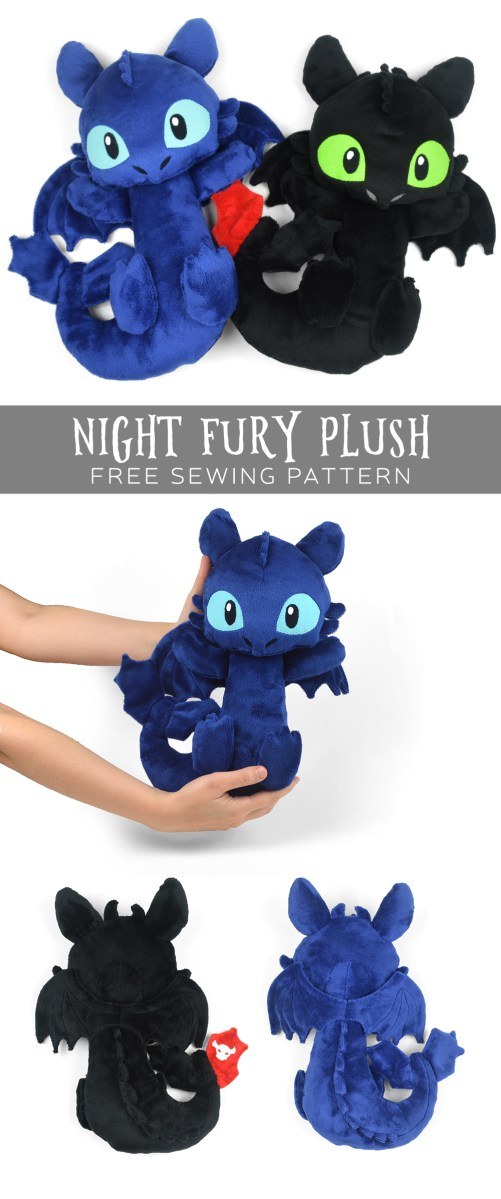 free pattern friday night fury plush